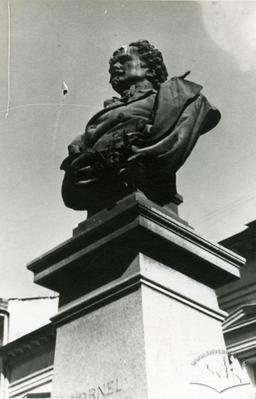 Kornel Ujejski monument on Shevchenka avenue