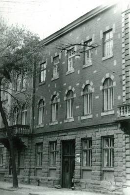 Building №40 on Pekarska street