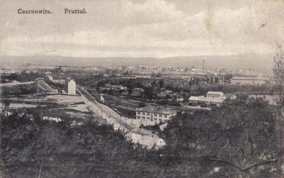 Panoramic View of Chernivtsi from the Northwest