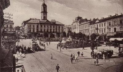 Central Square with Town Hall