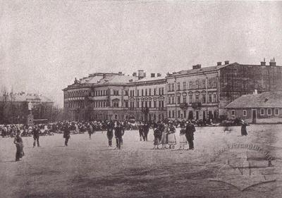 View of Soborna Sq.