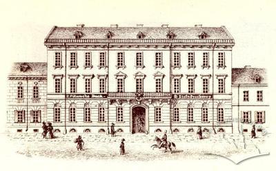 Production workshop of Lviv print academia
