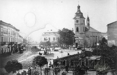 Crossroads of Horodotska, Yanivska and Kazymyrovska streets