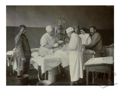 Surgery in the Red Cross Hospital
