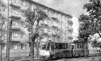 Kostia Levytskoho Street, first half of the 1960s