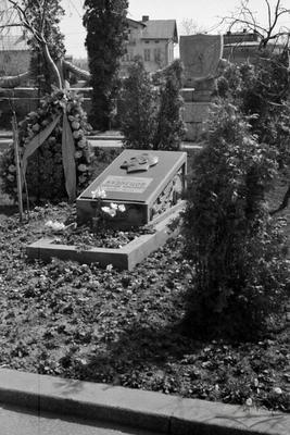 Nikolai Kuznietsov burial on the Hill of Glory