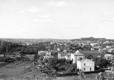 Tsetnerivka. Kobzarska Street, mid-1950s