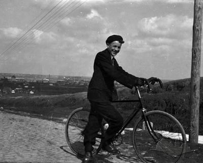Unknown Cyclist in Lviv
