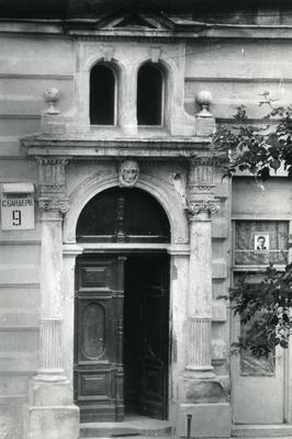 Main entrance to the building - 9 Bandery Street