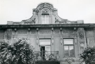 Декор фасаду - вулиця Бандери