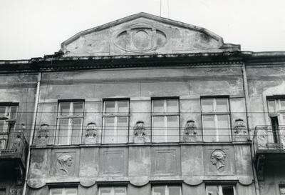 Fragment of the facade at 47A Bandery Street