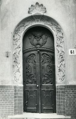 Entrance of the building - 61 Bandery Street