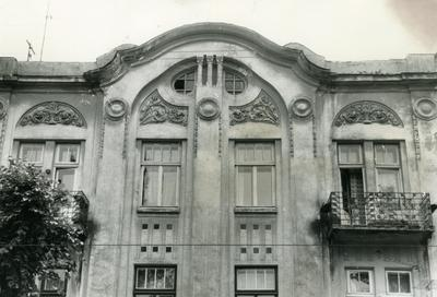 Декор фасаду - Вулиця Бандери, 31
