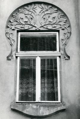 Window of the building at 61 Bandery Street