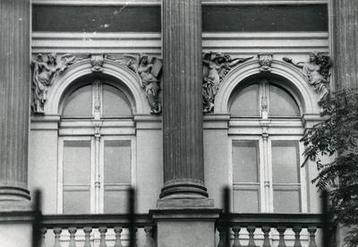 Windows of the main building of Lviv Polytechnic University
