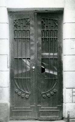 Entrance to the building at Bandery Street