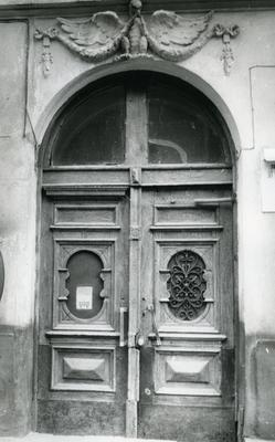 Main entrance at 71 Franka St.