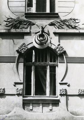 Window at 124 Franka St.