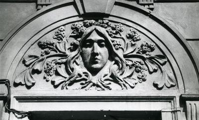 Mascaron at 37 Snopkivska St.