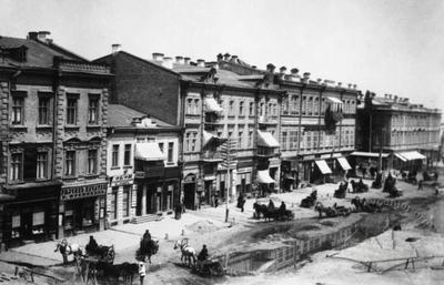 View of Khreshchatyk street