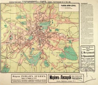 Lviv - Lwow - Leopol