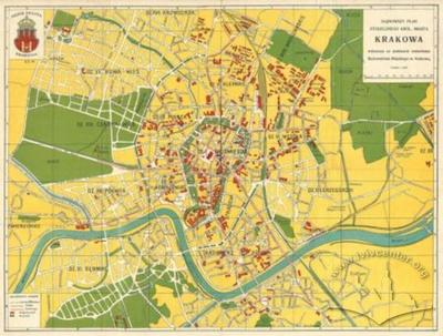 The Newest Map of the Royal and Capital City of Krakow