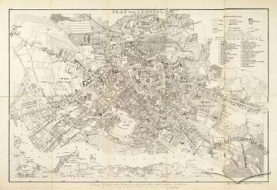 Plan of Lemberg