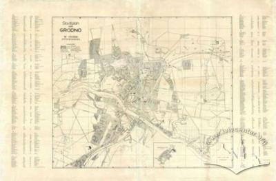 City Map of Grodno