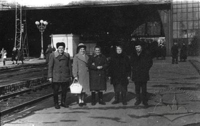Platform of the train station