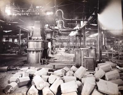 15-ton hammer at the Dniprovskiy factory