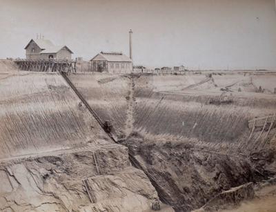 "Iron mine near the station ""Vechirniy Kut"""