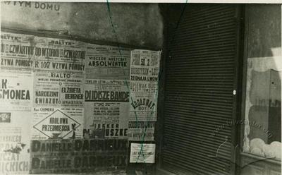 Advertisment at Sianska Street