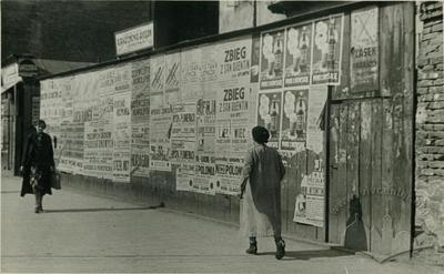 Advertisement at Vahova Street