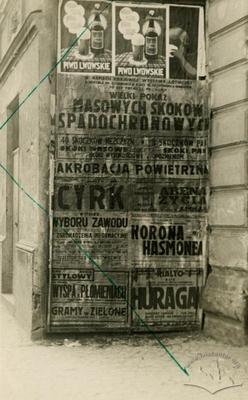 Advertisement at Furmanska Street