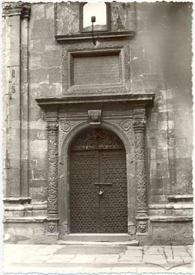 Three Hierarchs chapel portal