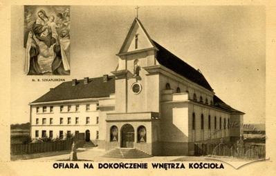 Будівництво костелу та монастиря кармелітів босих на Персенківці