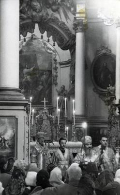 Liturgy in Saint George cathedral