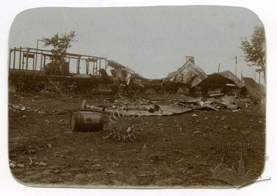Destroyed Train