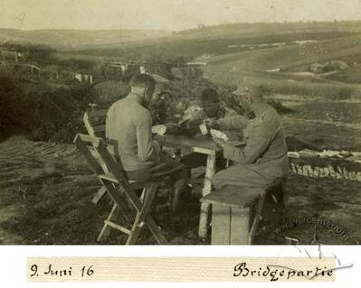 Playing Cards on The Battlefield