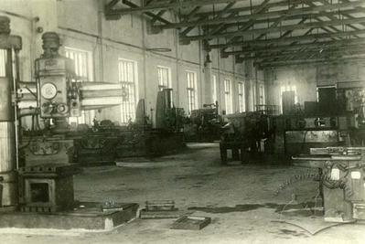 Shop of Lviv Power Lift Trucks factory