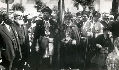 Solemn event of Kurkov brotherhood on Lysenka street 23