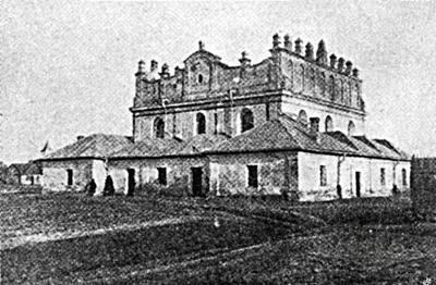 Synagogue in Leshnev