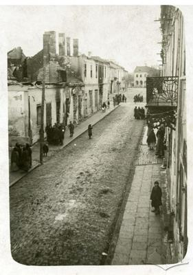 Street in The Wartime