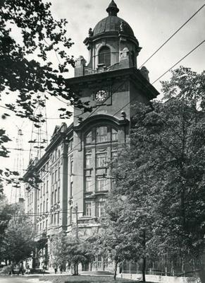 Lviv railway administration bulding