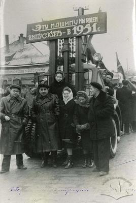 Engineers of Lviv Power Lift Trucks factory