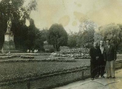 In Stryiskyi park