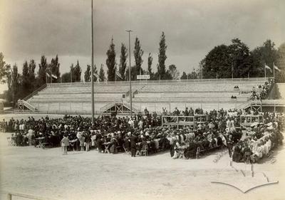Відкриття першого львівського стадіону в Стрийському парку