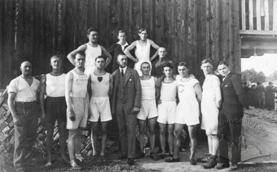 "Athletic competitions ""Pohoni"" participants"