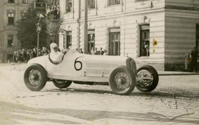 Rudolf Carraciola car at Lviv race