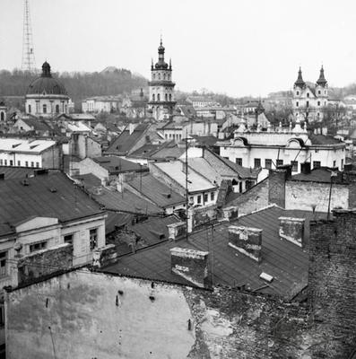 View of Downtown Lviv
